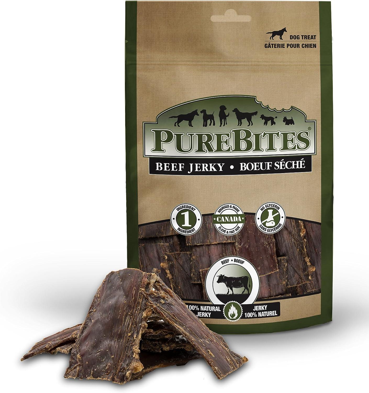 PureBites Beef Jerky Dog Treats