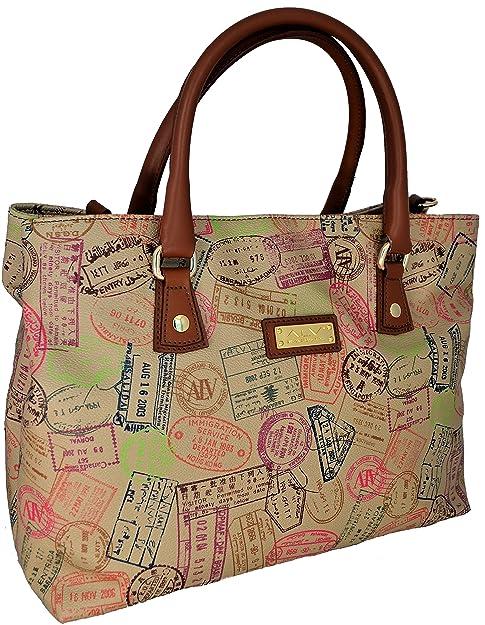 ALVIERO MARTINI Borsa Donna Tracolla Safari Bag Woman Beige  Amazon.it   Scarpe e borse fe988077ed4