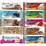クエストバー プロテインバー 人気フレーバー バラエティパック 10 Bars(Quest bar 10 Flavor Variety Pack)