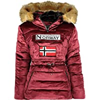 Geographical Norway - Parka para mujer con capucha