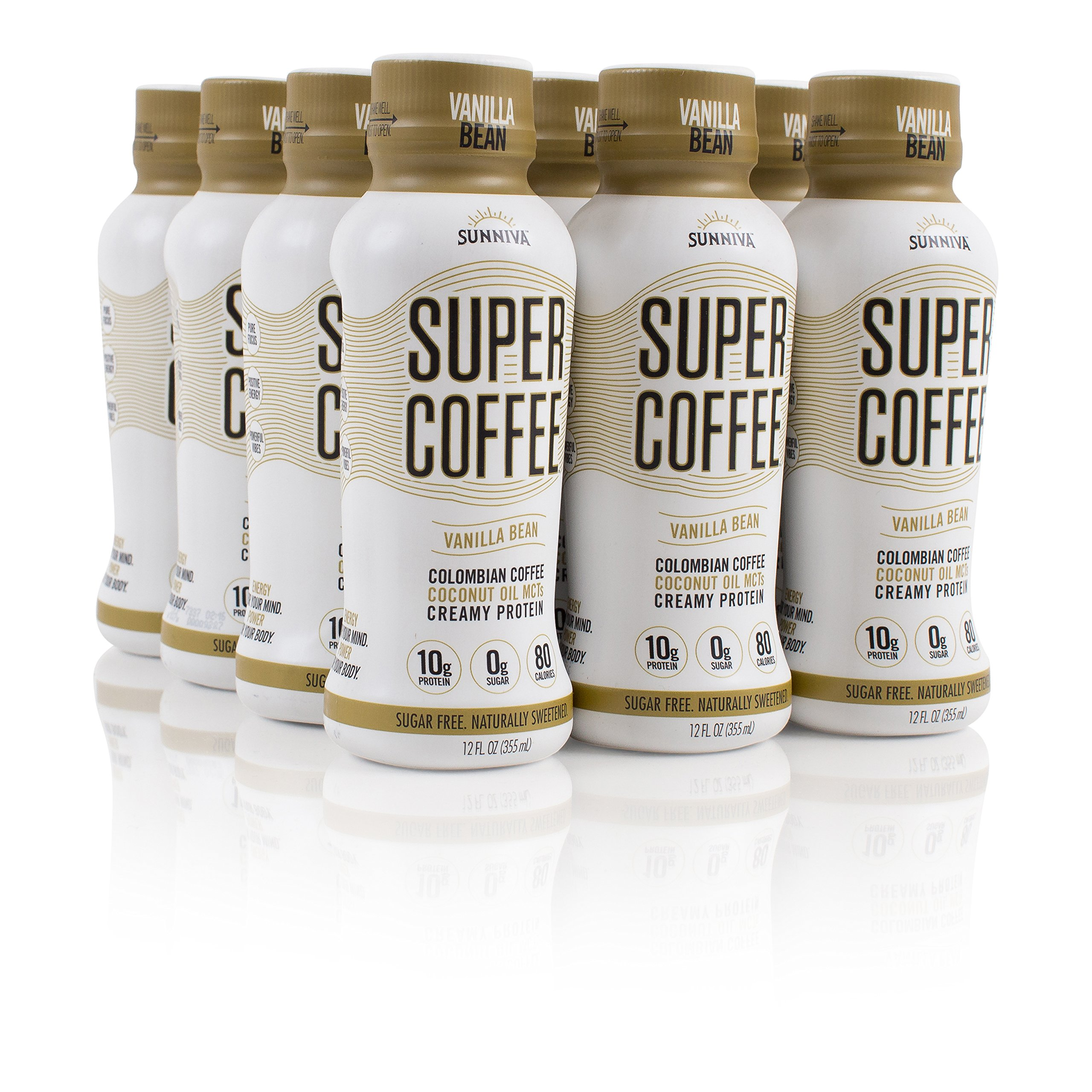SUNNIVA Super Coffee 4 Variety Pack NEW Sugar-Free Formula, 10g ...