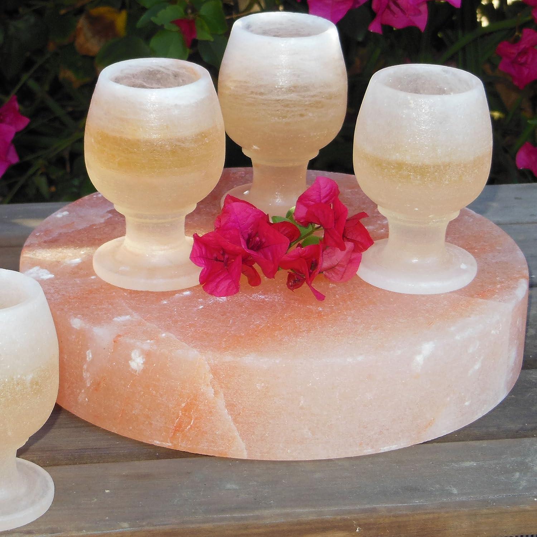 Natural Himalayan Pink Salt Plate//Slab//Block Square 6x6x2-Inch