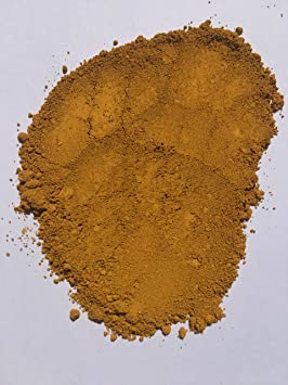 Fuerte amarillo (0,5 kg) pigmento/tinte para hormigón, renderizado, apuntando, cerámica, cemento, ladrillo, azulejos