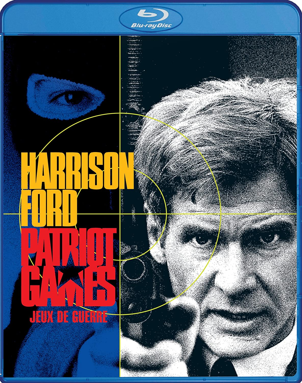 Patriot Games / Jeux de guerre (Bilingual) [Blu-ray] Harrison Ford Sean Bean Anne Archer Patrick Bergin
