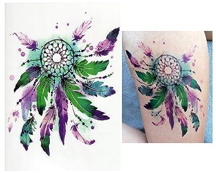 Tatouages éphémères Tattoo Temporaire Faux Tatouage Capteur De