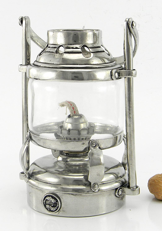 Lampada Lanterna tempesta marinara lucerna a petrolio. Antivento. Personalizzabile. Design Italiano, handmade, in peltro finissimo. |Cavagnini - since 1999|