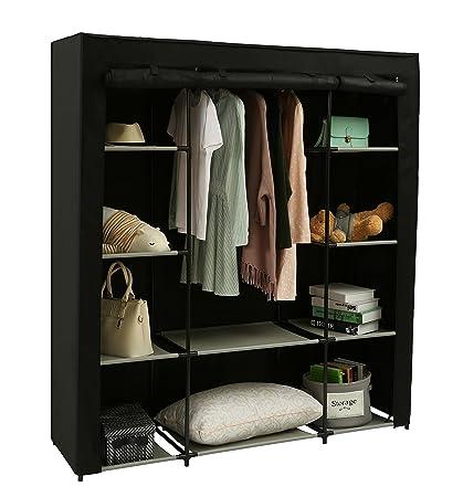 Charmant Homebi Clothes Closet Portable Wardrobe Durable Clothes Storage Organizer  Non Woven Fabric Cloth Storage Shelf