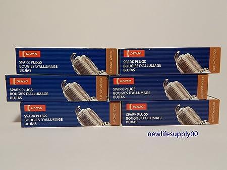 Amazon.com: DENSO # 3444 Iridium LONG LIFE Spark Plugs -- SC20HR11 ----- 6 PCS * NEW *: Automotive