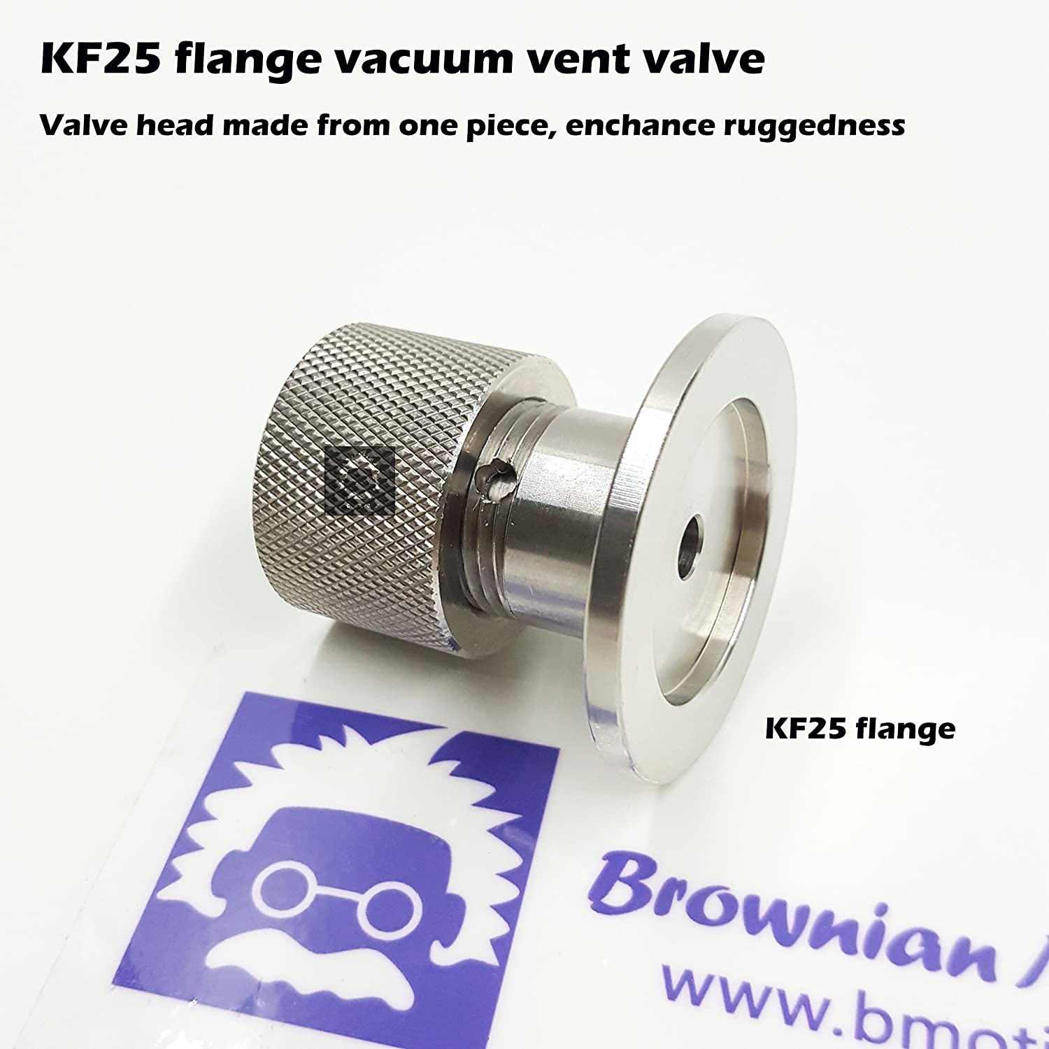 ISO-KF KF16 KF25 KF16 Vent vlave KF40 Flange Vent Valve to Break Vacuum in a Controlled Manner