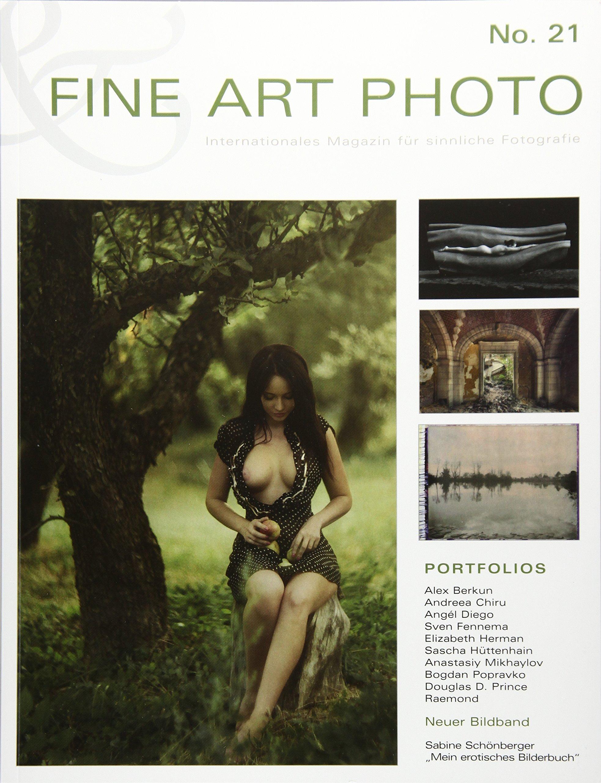 FINE ART PHOTO Nr. 21: Internationales Magazin für sinnliche Fotografie Taschenbuch – 27. Oktober 2016 Verlag Rudolf Hillebrand 3981772326 Akt (künstlerisch) Erotik