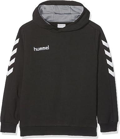 hummel Core Cotton Hoodies, Unisex Adulto, Negro, XL