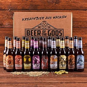 Wacken Brauerei Göttergabe - Pack de regalo de cervezas caseras ...