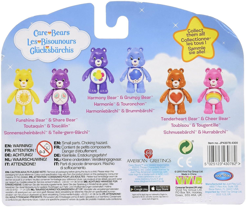 Vivid Imaginations Grumpy Bear And Harmony Bear Care Bears Figures