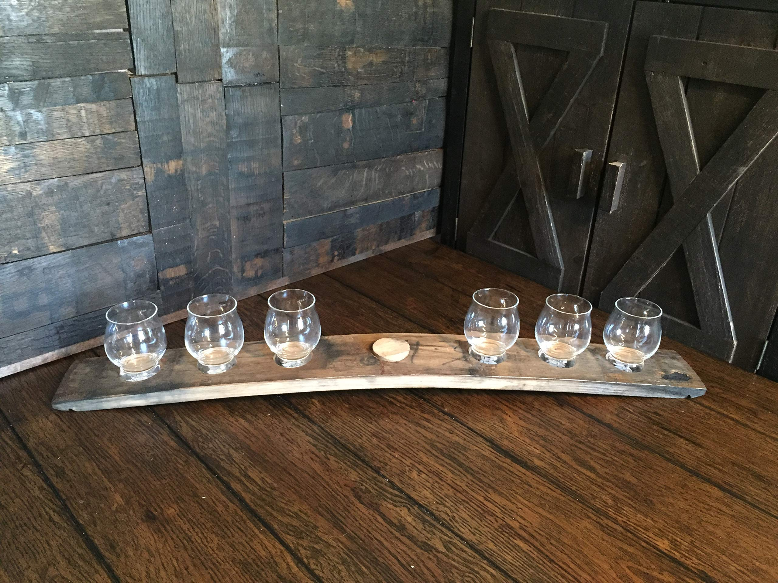 Large Bourbon Snifter Flight Board