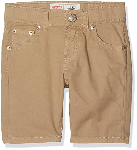 06f43fb15dbbe Levi's Kids Boy's Bermudas Trousers, Brown (Mink), 12 Years: Amazon.co.uk:  Clothing