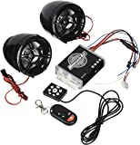 KDX-Audio 09.5458 - Altavoces para Moto y Sistema antirrobo, Color Negro