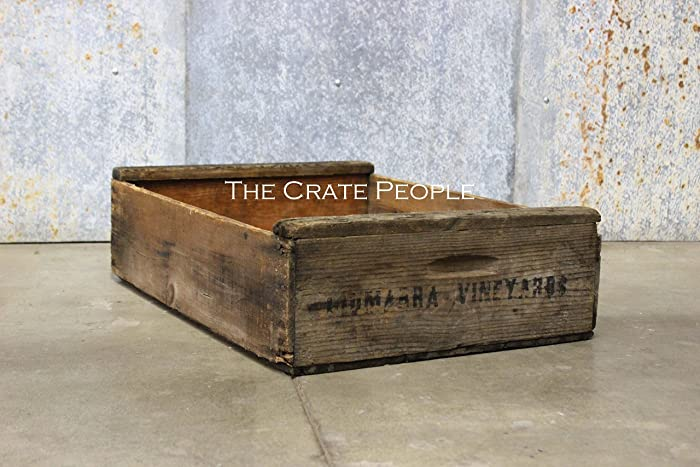 Vintage Rustic Short Grape Crate Hundreds Available Vintage Crates