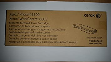Xerox Phaser 6600 WorkCentre 6605 Magenta Metered Toner