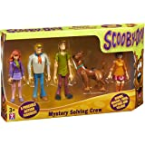 Scooby-Doo – Mystery Solving Crew – Pack 5 Figurines Articulées 13,5 cm