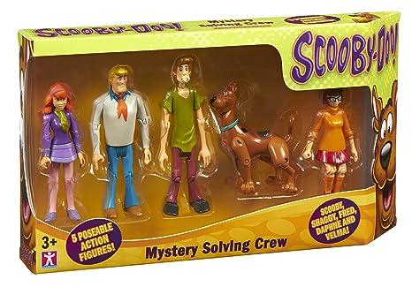Scooby Doo Set Di Figurine Della Banda Risolvi Misteri 5 Pz