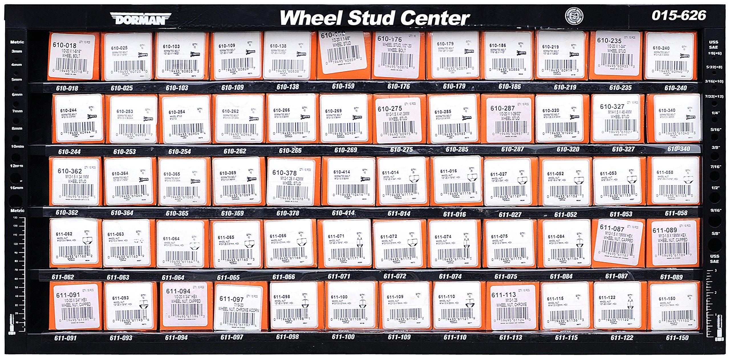 Dorman 015-626 Wheel Stud Assortment