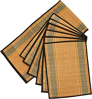 SouvNear Set of 6 Woven Placemats and a Table Runner for Dining / Kitchen - Natural  sc 1 st  Amazon.com & Amazon.com: Best Selling Set of 6 Placemats u0026 Table Runner - SALE on ...