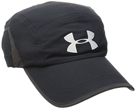 super popular af97b 0b1e3 Under Armour Men s Pinnacle Run Cap, Black (001) Reflective, One Size