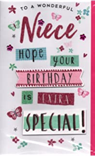 Niece Birthday Card Niece Just For You Special Wishes Happy