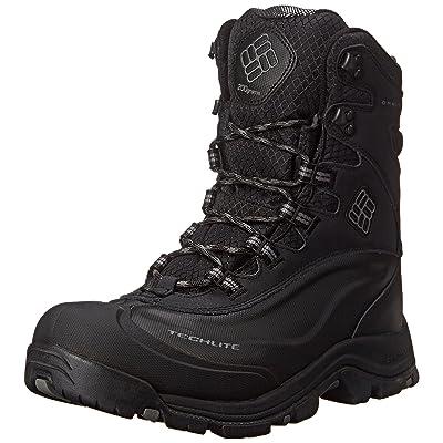 Columbia Men's Bugaboot Plus III Omni-M, Black/Charcoal-Wide, 9.5 EE US   Snow Boots