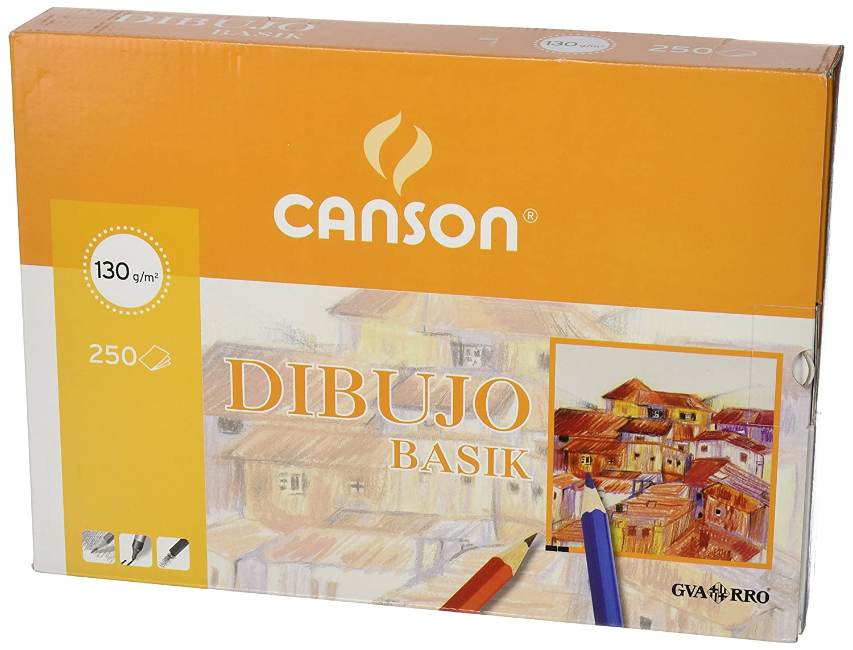 Canson 401405 - Papel para dibujo, 250 hojas