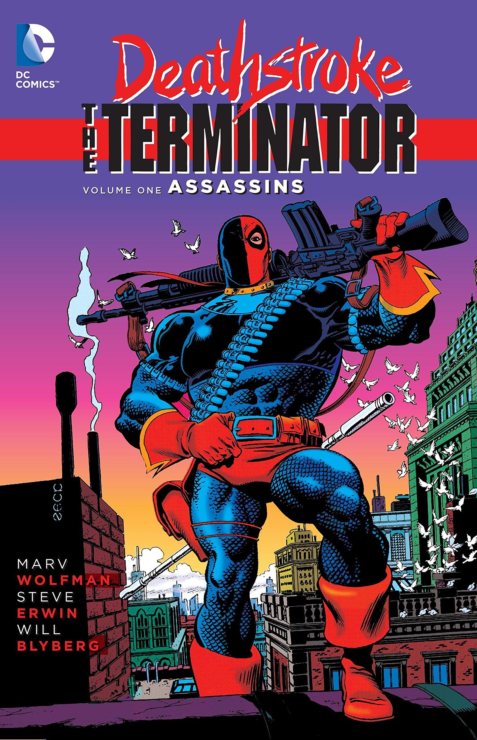 amazon com deathstroke the terminator vol 1 assassins