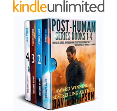 Amazon Com Post Human Omnibus The Battle For Human Survival In The Age Of Artificial Intelligence Ebook Simpson David Kindle Store