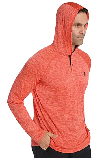 Amazon.com: Mens Hoodies Pullover - Long Sleeve Dri-Fit Hoodie For ...