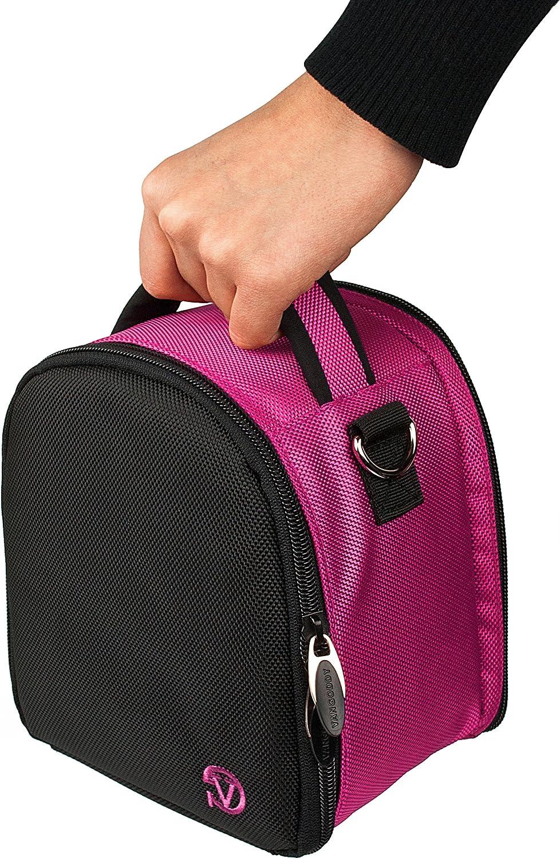 Nylon Sky Blue Camera Case Versatile Handbag with Removable Shoulder Strap for Sony Alpha ?99 II 77 68 58I SLR DSLR