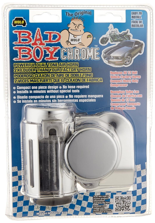 Amazon.com: Kuryakyn 7290 Super Deluxe Wolo Bad Boy Air Horn Kit: Automotive