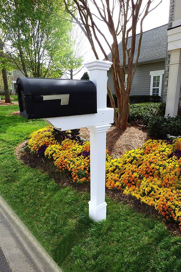 Classica Mailbox Post W No Dig Steel Pipe Anchor Kit Amazon Ca Patio Lawn Garden