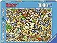Ravensburger - 19163 - Puzzle - Astérix - Chasse aux Sangliers - 1000 Pièces