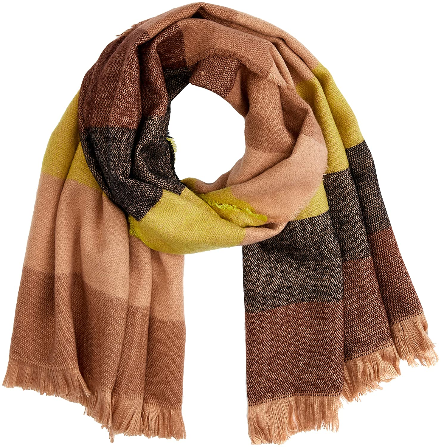 Scotch & Soda R´ Belle Mä dchen Schal Oversized Scarf in Soft Woven Quality, Mehrfarbig (Combo A 217), One Size (Herstellergrö ß e: OS) Scotch & Soda R´Belle 147141
