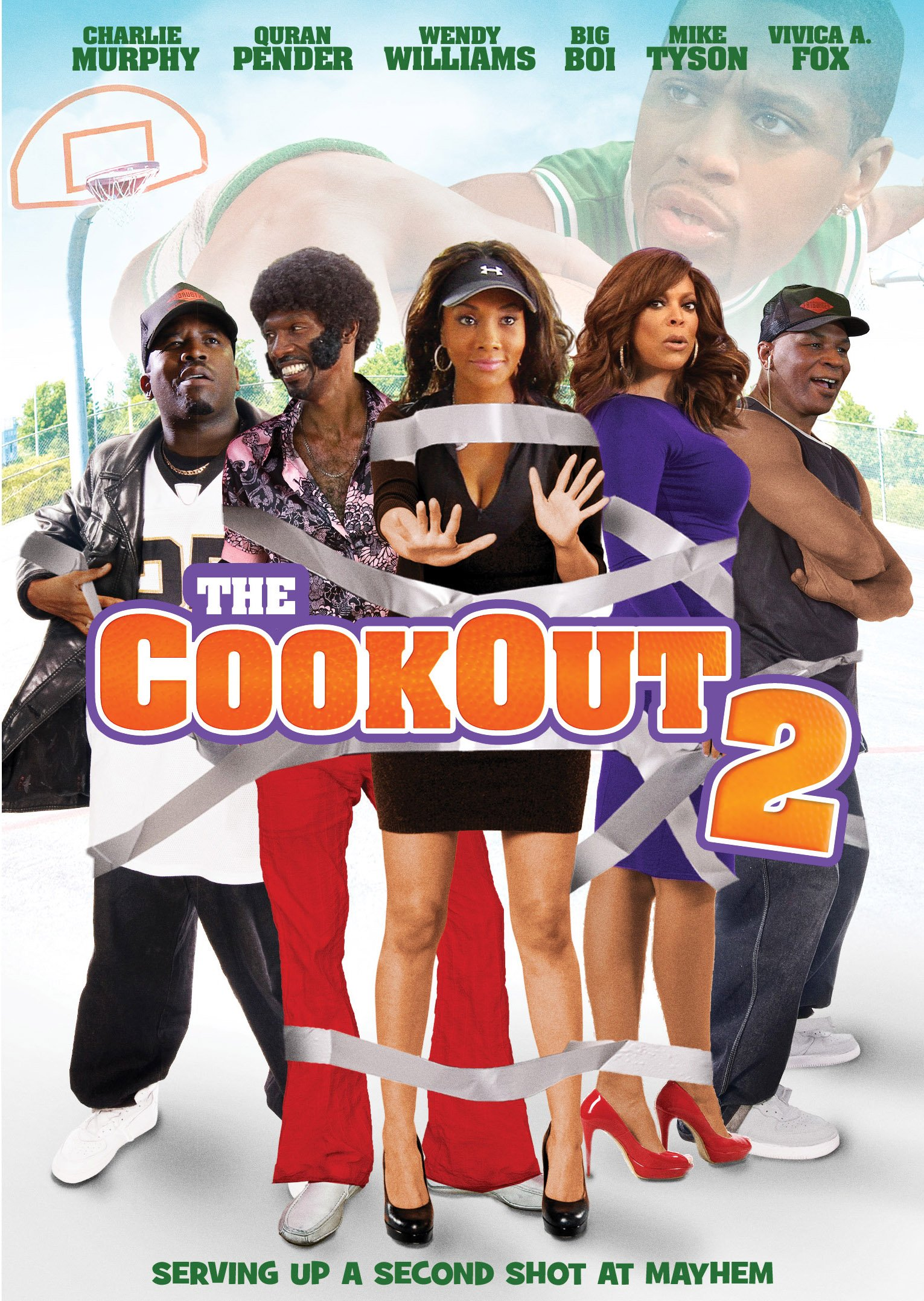 DVD : Ja Rule - The Cookout 2 (Subtitled, Widescreen, Dolby, Dubbed)