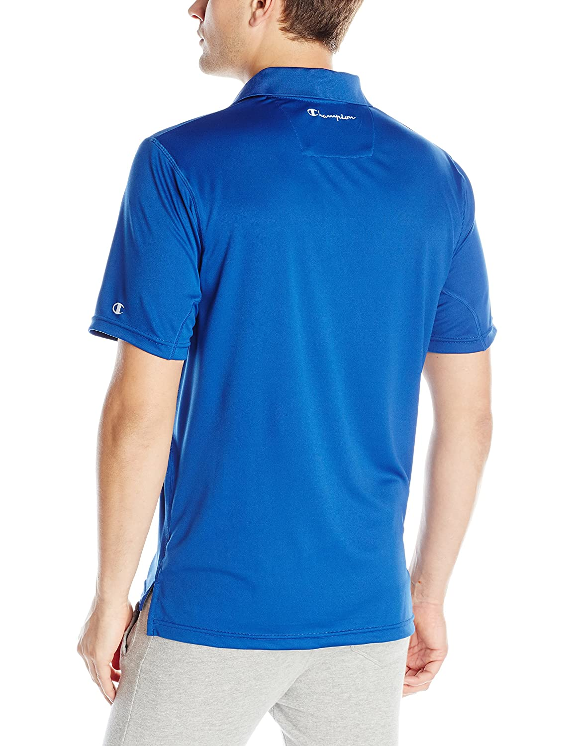 3f70e9627eb247 Champion Men s Ultimate Double Dry Performance Polo Sportshirts at Amazon  Men s Clothing store