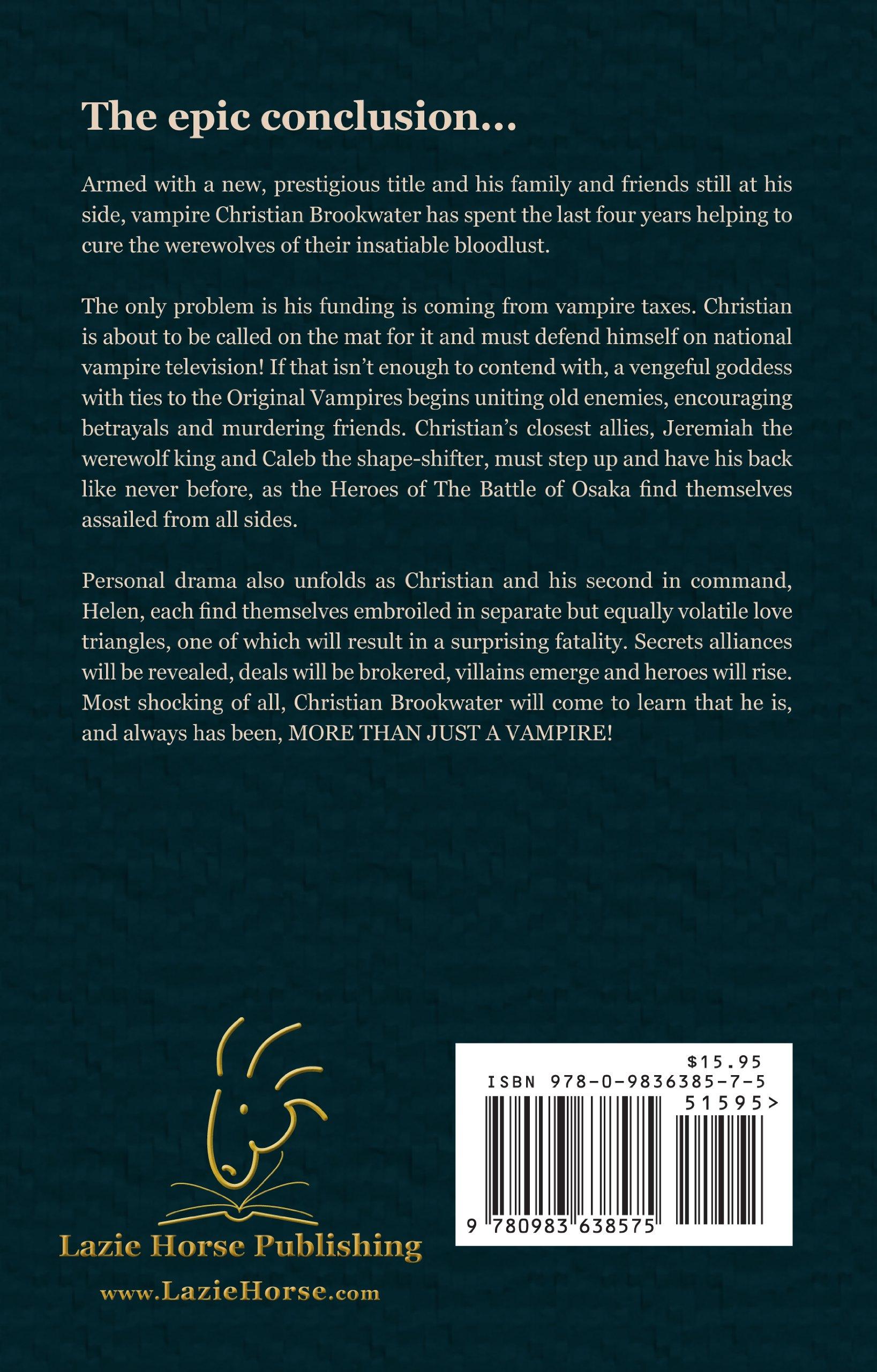Brookwaters Curse Volume III: Extinction Agenda: Steven Van ...
