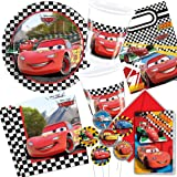 Cars 2–113Kit Party Set for Children's Birthdays with Cars 2(for 6–10Children Plates Cups Napkins Invitations, Bags, Straws, Balloons, Streamers, etc.)