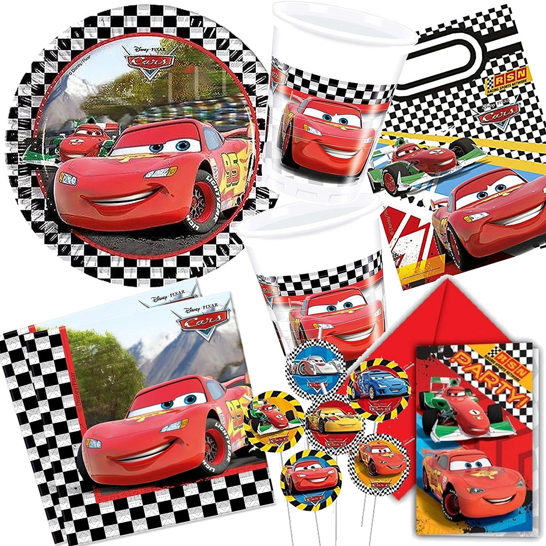 Dekospass Cars 2 - Kit de 113 piezas para cumpleaños ...