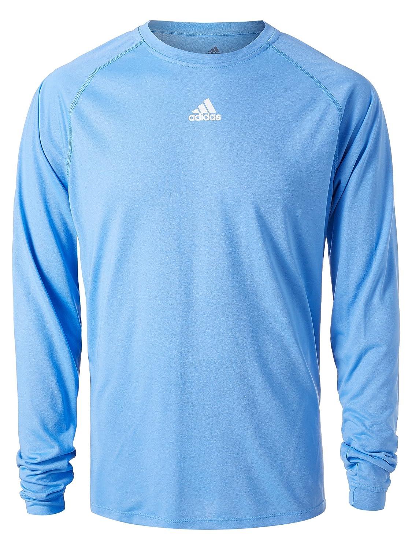 AdidasメンズClimalite杢長袖シャツ ライトブルー XL XL ライトブルー B01N0EYIAI, modaMania:7a2cf6e0 --- mail.lagunaspadxb.com