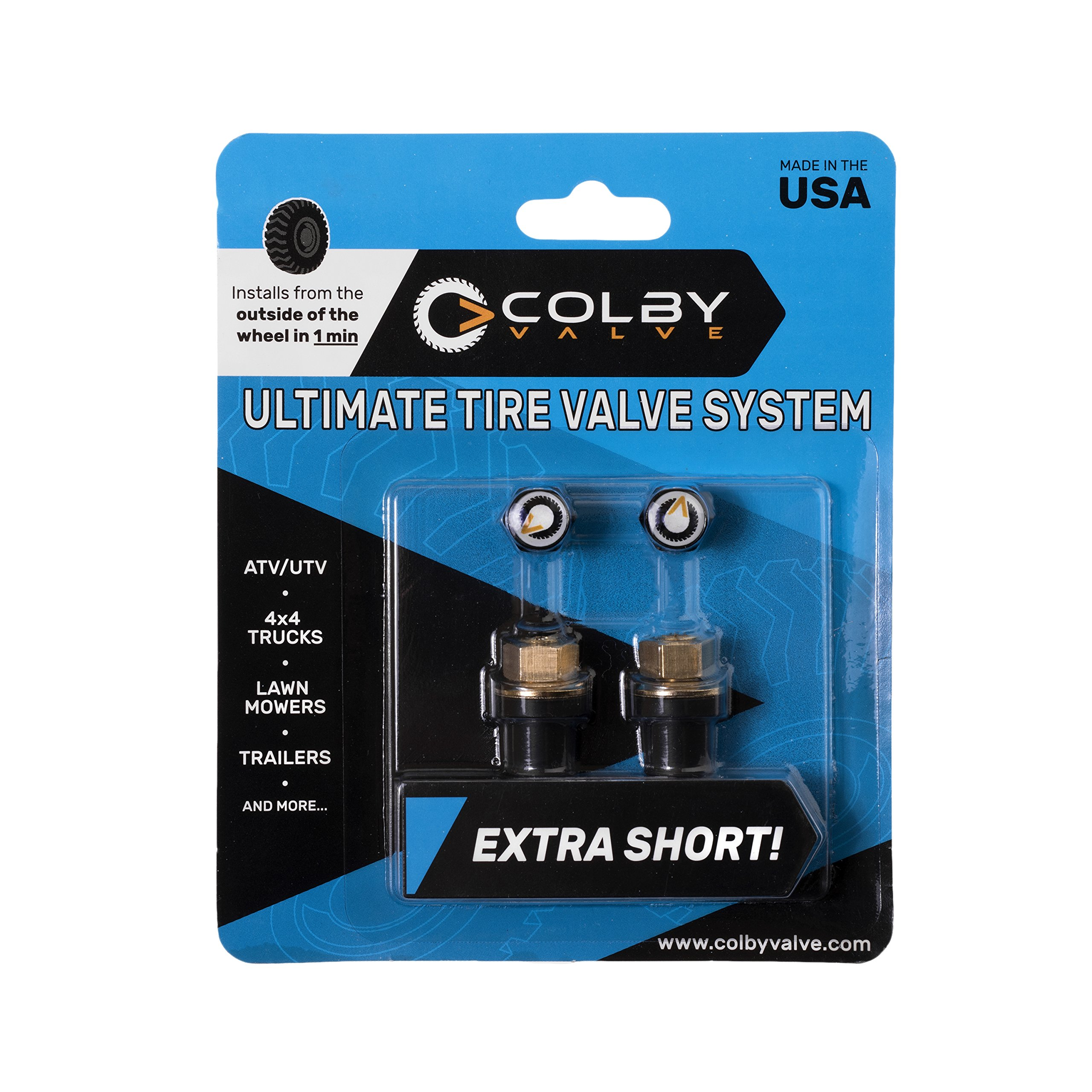 Colby Valve Ultimate Tire Valve Stem Replacement System - Latest Version by Colby Valve