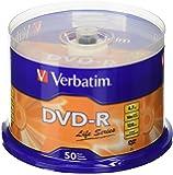Verbatim(R) Life Series DVD-R Disc Spindle, Pack Of 50