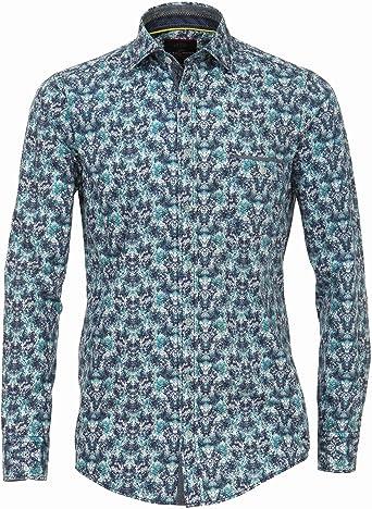 CASA MODA - Camisa Casual - Clásico - para Hombre Dunkelblau ...