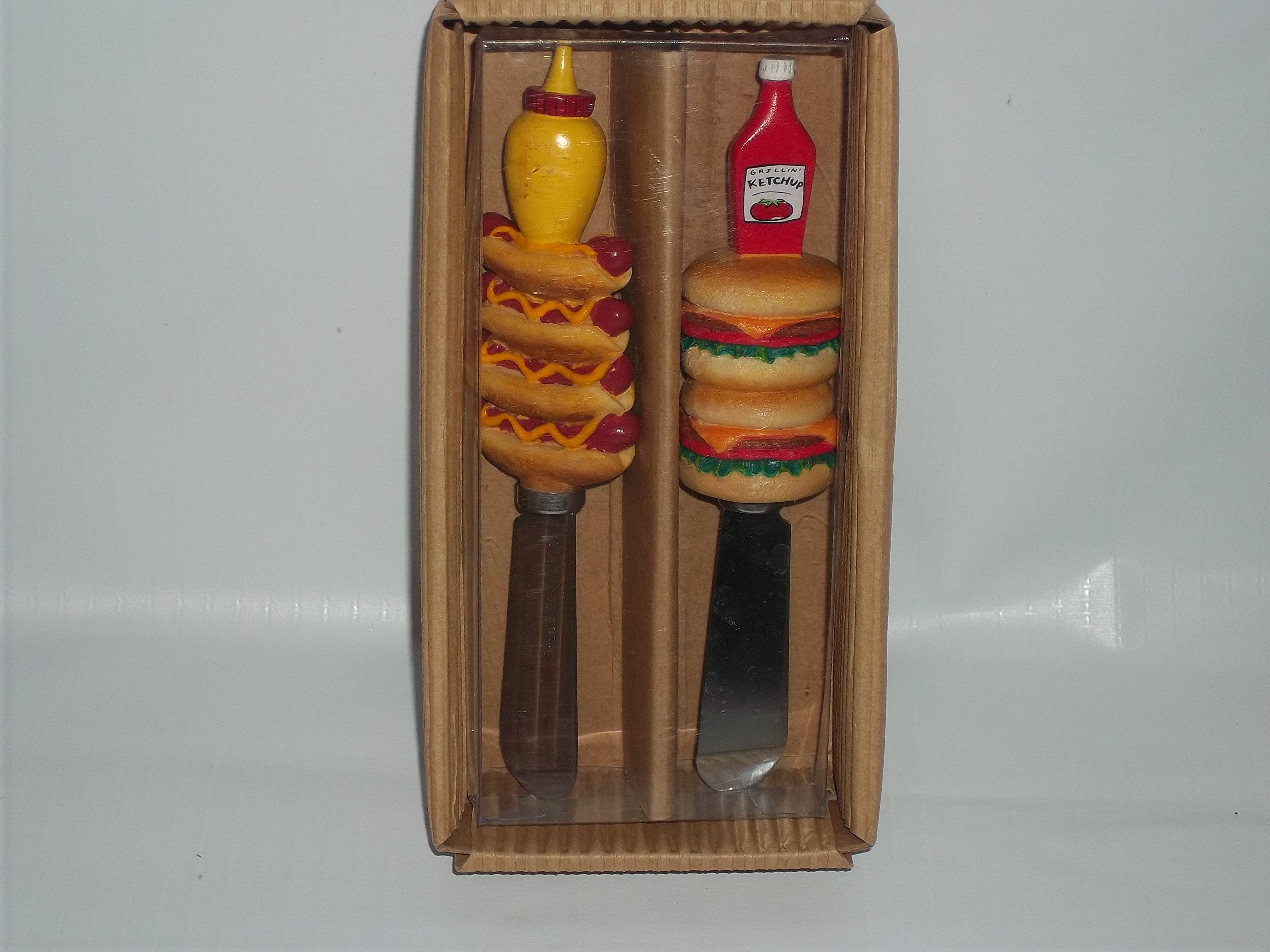 Condiment Handle Spreaders 2 Pack