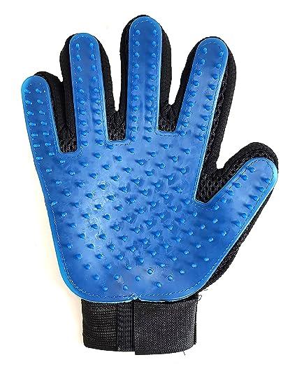 True Touch 2 en 1 guante para mascota, guante de peluquería, herramienta de aseo