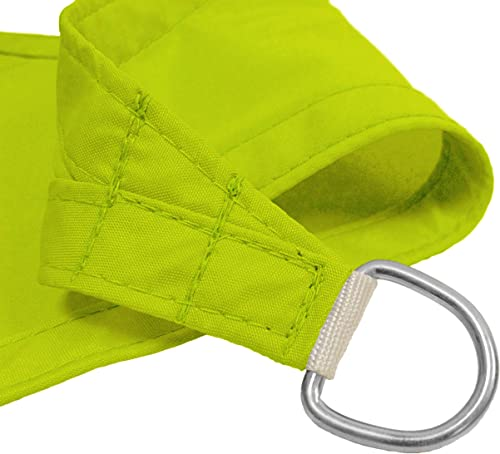 Kookaburra Waterproof Lime Green Sun Shade Sail Garden Patio Gazebo Awning Canopy 98 UV Block